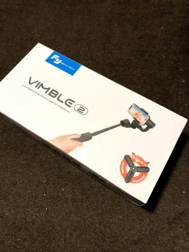 メルカリで配送事故!ジンバル FeiyuTech Vimble2